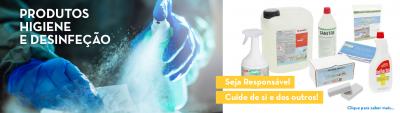 Produtos de Higiene e Desinfeção