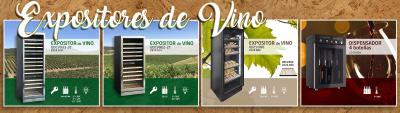 Expositores de Vino