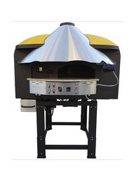 PIZZA OVEN ROTARY GAS / WOOD UDM85RK S / COATING