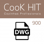 Autocad Blocks Cook Hit 900