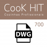 Autocad Blocks Cook Hit 700