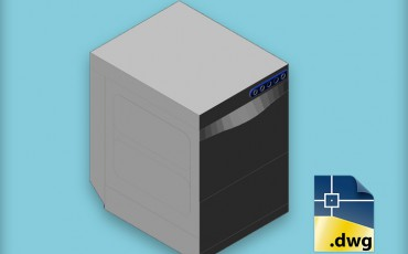 Autocad Blocks Kromo Washing Machines