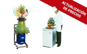 Actualización de precios de trituradoras de basura