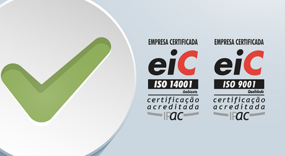 Certificação ISO 9001 e ISO 14001